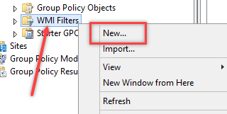 Applying WMI Filter to Group Policy - 4