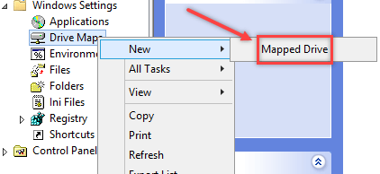 How to Map Network Drive using Group Policy - 3