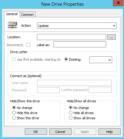 How to Map Network Drive using Group Policy - 4