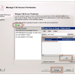 Grant Full Access Permission in Exchange 2010 Mailbox