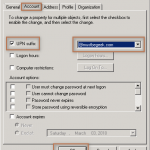 Change UPN of Domain Users in Active Directory