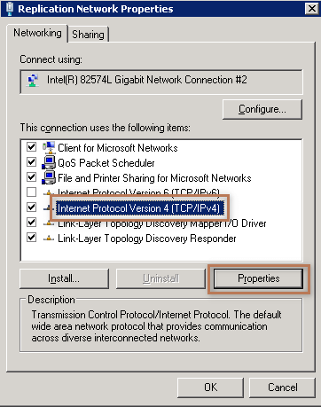 Replication Network Properties