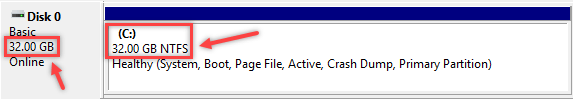 Creating Partition using Disk Management in Windows - 3