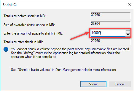 Creating Partition using Disk Management in Windows - 5
