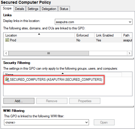 How to Apply GPO to Computer Group in Active Directory - 15