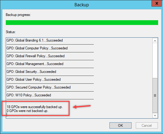 Backup and Restore Group Policy Object in Windows - 4