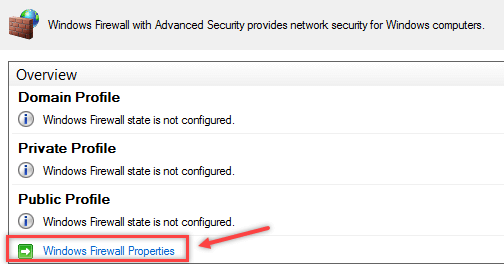 Configure Windows Firewall Rule using Group Policy - 2
