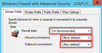 Configure Windows Firewall Rule using Group Policy - 3