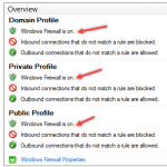 Configure Windows Firewall Rule using Group Policy
