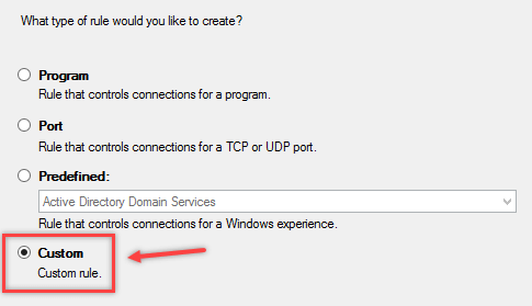 Configure Windows Firewall Rule using Group Policy - 6