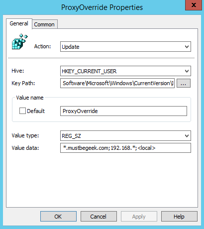 How to Configure Proxy Settings using Group Policy Preferences - 8