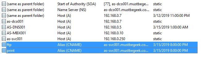 Add CNAME Record in Windows DNS Server - 6