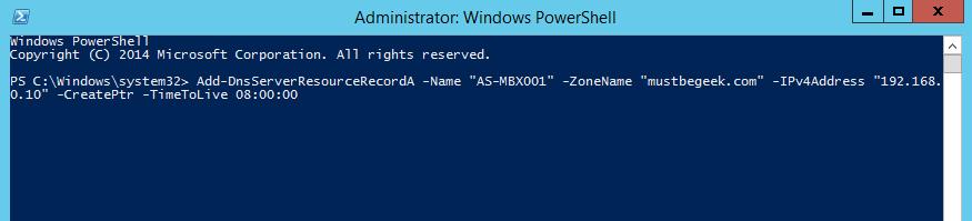 Add Host A-Record in Windows DNS Server - 6