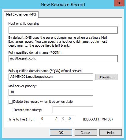 Add MX Record in Windows DNS Server - 4