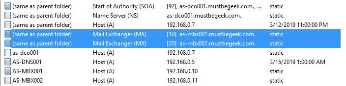 Add MX Record in Windows DNS Server - 7