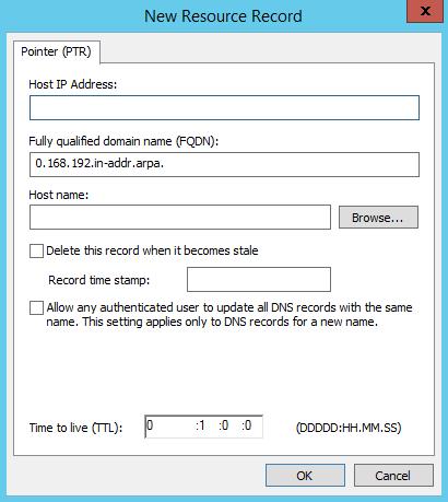 Add PTR Record in Windows DNS Server - 3