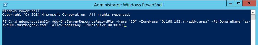 Add PTR Record in Windows DNS Server - 5