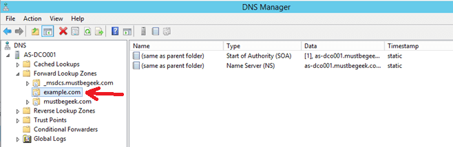 Configure Primary Zone in Windows DNS Server - 10