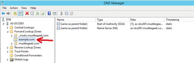 Configure Primary Zone in Windows DNS Server - 10