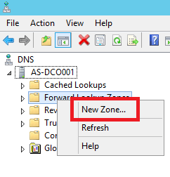 Configure Primary Zone in Windows DNS Server - 3