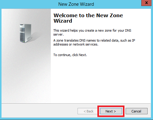 Configure Primary Zone in Windows DNS Server - 4