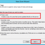 Configure Primary Zone in Windows DNS Server