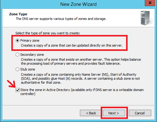 Configure Primary Zone in Windows DNS Server - 5