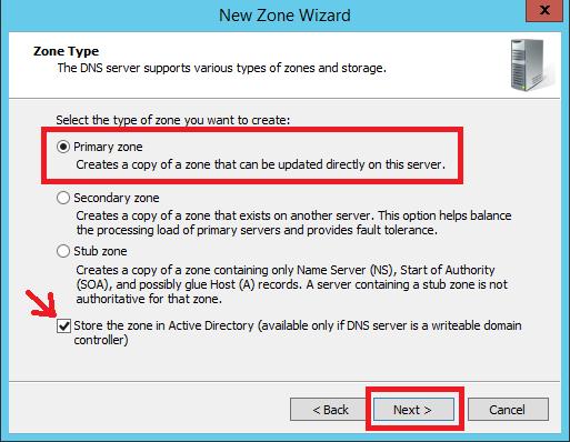 Configure Primary Zone in Windows DNS Server - 5