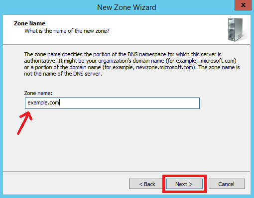 Configure Primary Zone in Windows DNS Server - 7