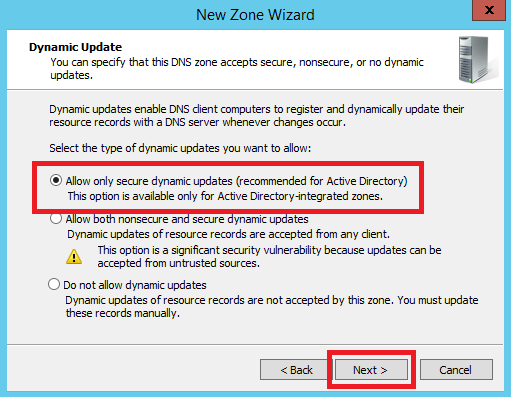 Configure Primary Zone in Windows DNS Server - 8