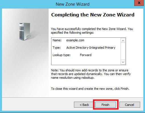 Configure Primary Zone in Windows DNS Server - 9