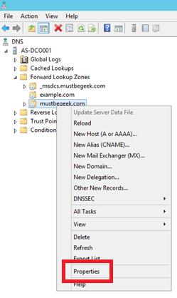Configure Secondary Zone in Windows DNS Server - 10