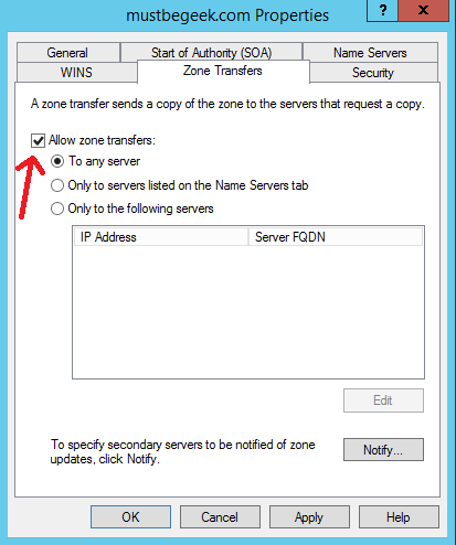 Configure Secondary Zone in Windows DNS Server - 11