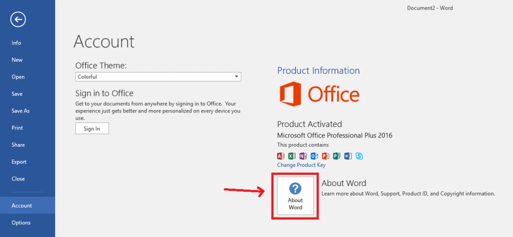 How to Find If I Have 32-bit or 64-bit Office Version - 3