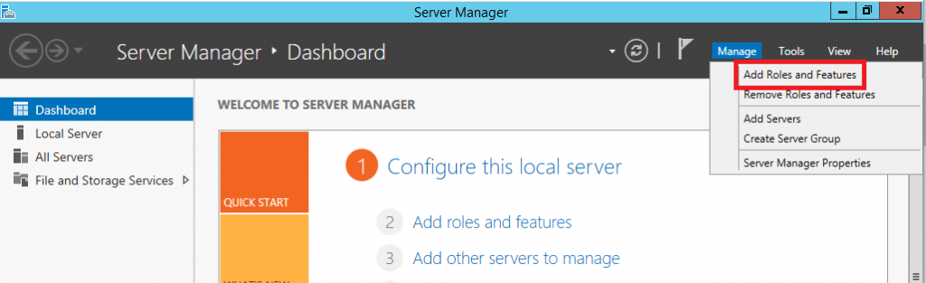 Install DNS Server Role in Windows Server 2012 R2 - 1