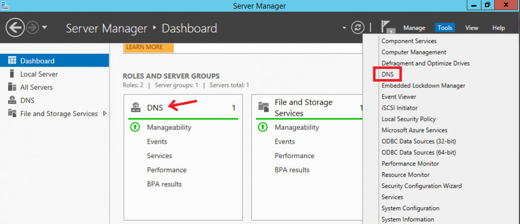 Install DNS Server Role in Windows Server 2012 R2 - 10