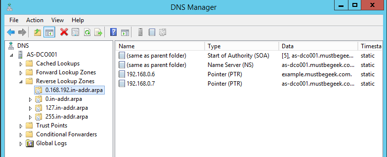 Understanding Forward and Reverse Lookup Zones in DNS - DNS Manager Reverse Lookup