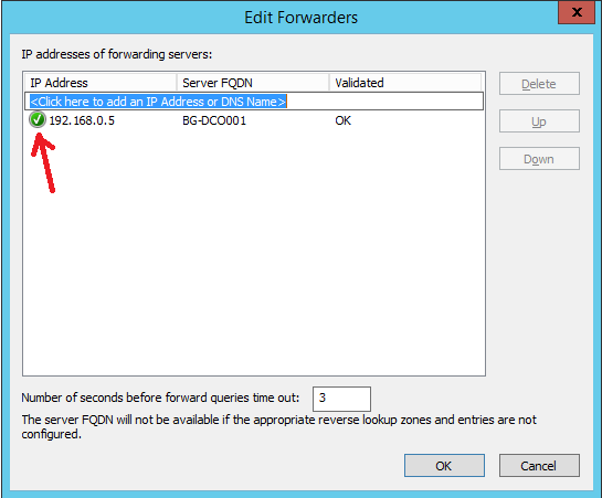 Configure DNS Forwarding in Windows Server 2012 R2 - 4