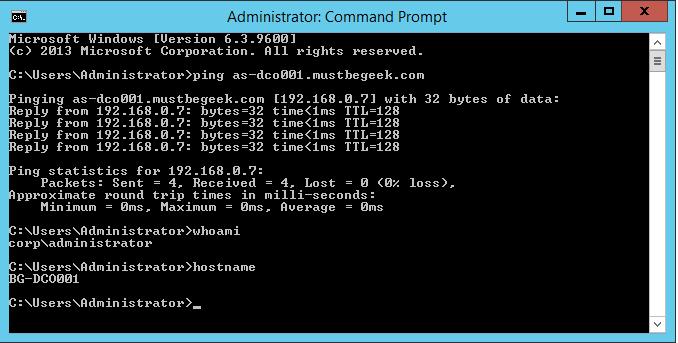 Configure Stub Zone in Windows DNS Server - 15