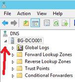 Configure Stub Zone in Windows DNS Server - 2