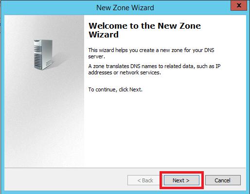 Configure Stub Zone in Windows DNS Server - 4