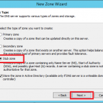 Configure Stub Zone in Windows DNS Server