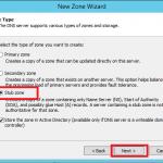 Configure Stub Zone in Windows DNS Server