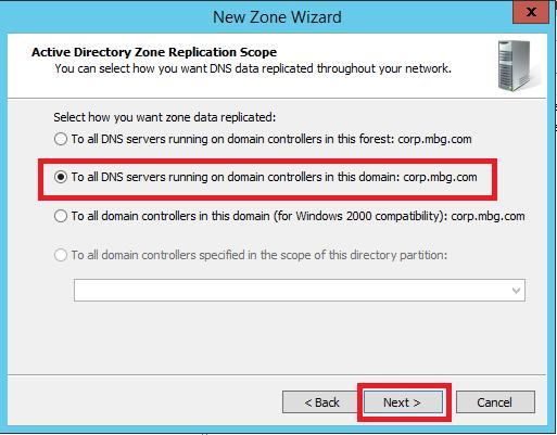 Configure Stub Zone in Windows DNS Server - 6