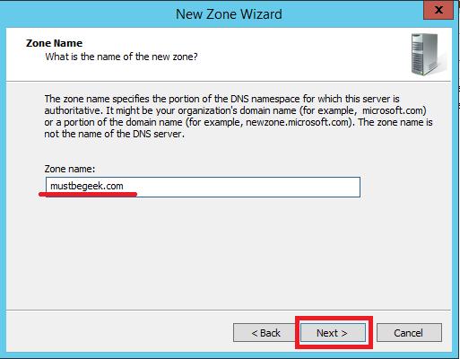 Configure Stub Zone in Windows DNS Server - 7
