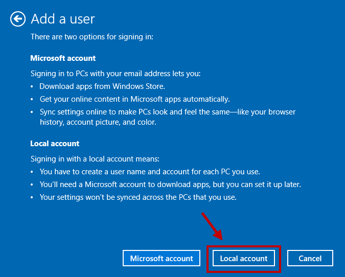 Creating Local Administrator Account in Windows 10 - 4