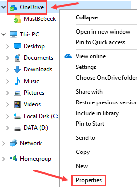 How to Move OneDrive Folder to a Different Location