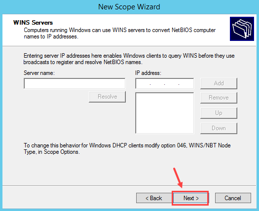 Configure DHCP Scope in Windows Server 2012 R2 - 11