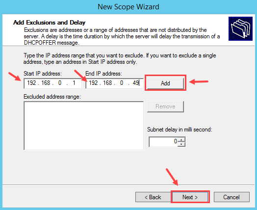 Configure DHCP Scope in Windows Server 2012 R2 - 6