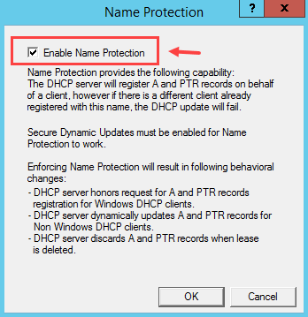 Configure DNS Dynamic Update in Windows DHCP Server - 9